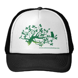 Cat House on the Kings, Cat in a Tree apparel Hats