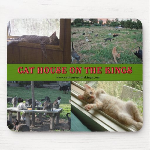 Cat House on the Kings Mousepads