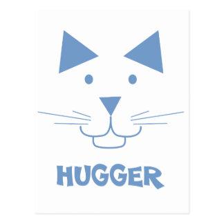 Cat Hugger Postcard