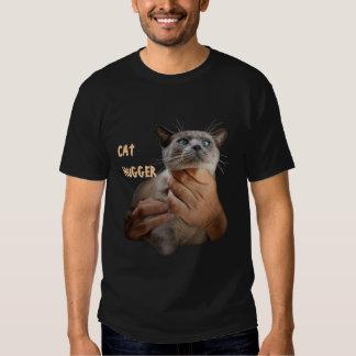 Cat Hugger T Shirt