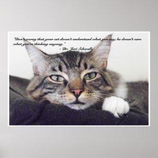 Cat Humor print