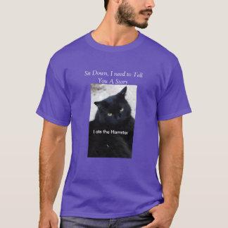 Cat humor t shirt  II