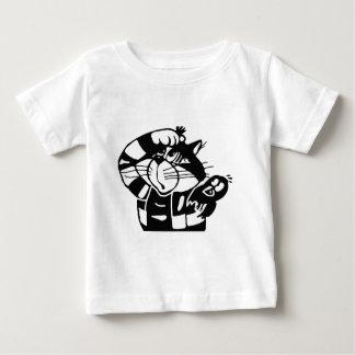 Cat Hunter '' Cat'nBird'' Baby T-Shirt