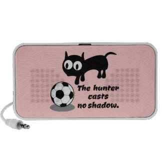 Cat Hunting A Ball Notebook Speakers