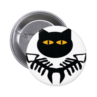 cat icon pinback buttons