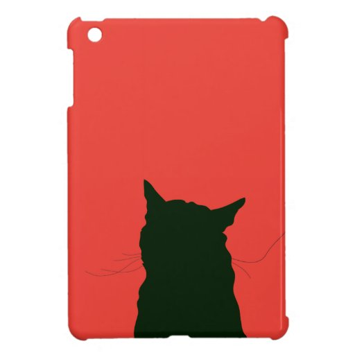Cat illustration case for the iPad mini
