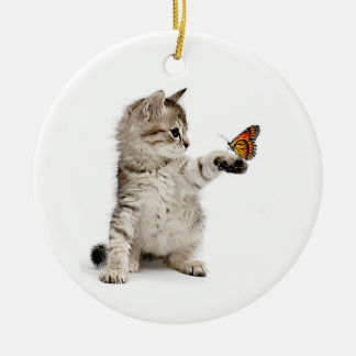 Cat image for Circle Ornament