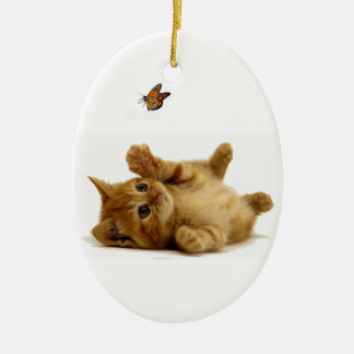 Cat image for Oval Ornament