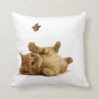 Cat image for Polyester Throw Pillow