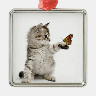 Cat image for Premium Square Ornament