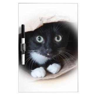 Cat in a bag Dry-Erase board