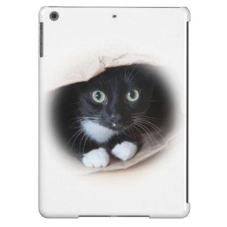 Cat in a bag iPad air covers