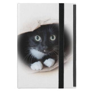 Cat in a bag iPad mini cover