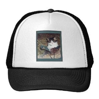 Cat in a Boot Trucker Hat