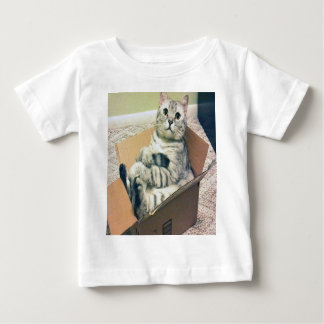 Cat In A Box Baby T-Shirt