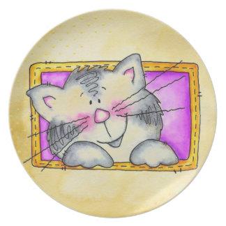 cat in a box plate