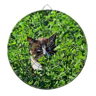 Cat in a Field Dartboards