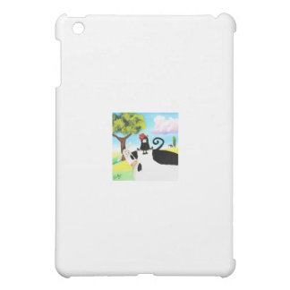 cat in a hat on a cow iPad mini covers