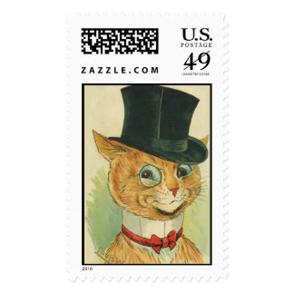 Cat in a Hat Postage