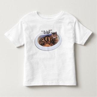 Cat in a Sink T Shirt