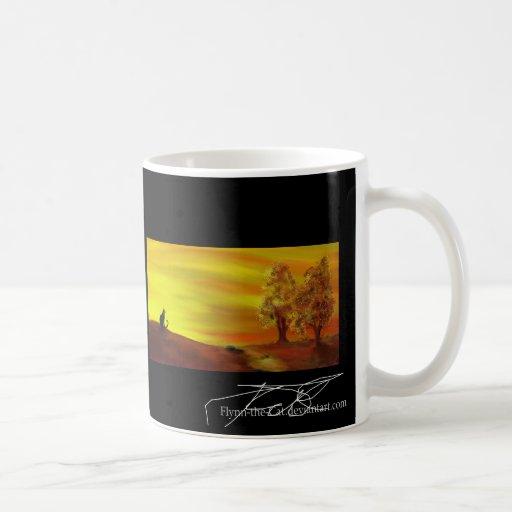 Cat in Autumn - Autumneve Coffee Mug