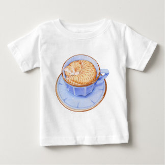 Cat in Coffee Baby T-shirt