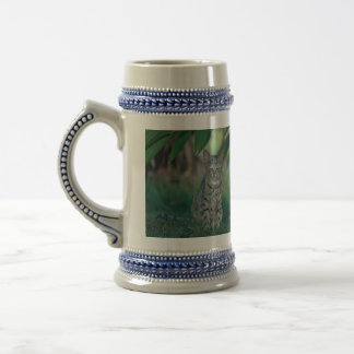 Cat in Garden Coffee Mug