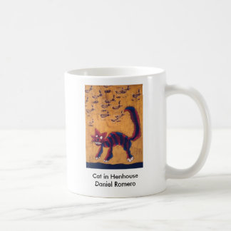 Cat in Henhouse Coffee Mug
