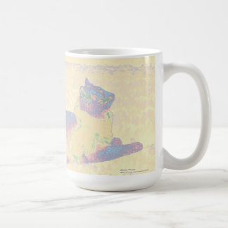 Cat in Pastel Mug