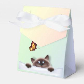 Cat in Pocket Favor Box