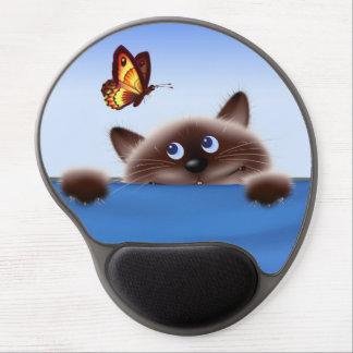 Cat in Pocket Gel Mouse Pads