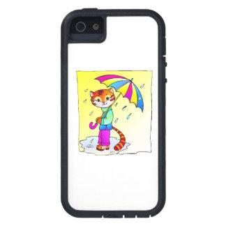 Cat In Rain Case For iPhone 5