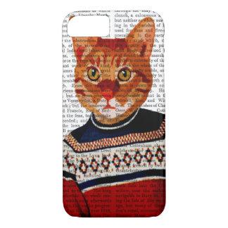Cat in Ski Sweater 2 iPhone 7 Case