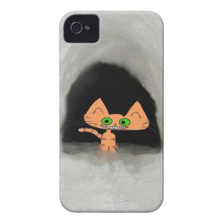 Cat In Snow Cave Case-Mate iPhone 4 Case
