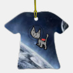 Cat In Space Christmas Tree Ornaments