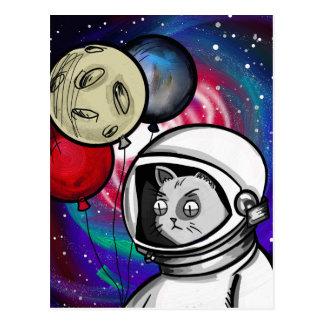 Cat in Space Postcard