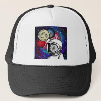 Cat in Space Trucker Hat