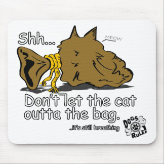 Cat In The Bag Mouse Pad