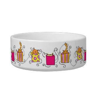 Cat in the Box Cute Bowl