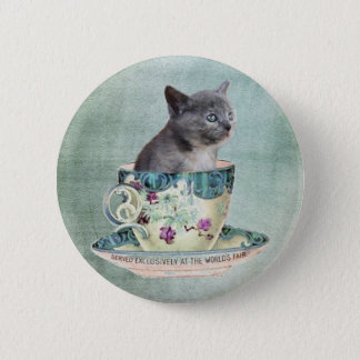 Cat in the Cup button