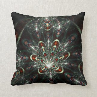 Cat in the Fract Centered - American MoJo pillow