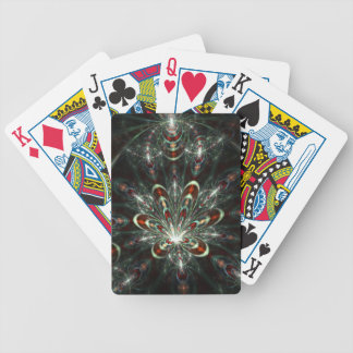 Cat in the Fract Centered - Bicycle playing card