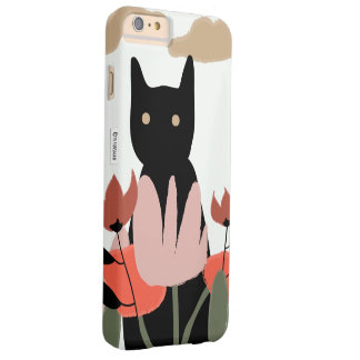 Cat in the garden iPhone case Barely There iPhone 6 Plus Case