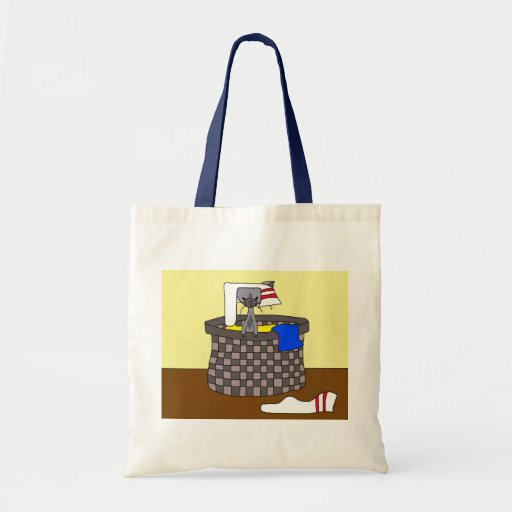 Cat in the Laundry (Meet the Mews) Bags