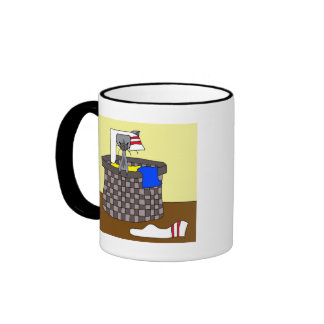 Cat in the Laundry (Meet the Mews) Mug