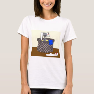 Cat in the Laundry (Meet the Mews) T-Shirt