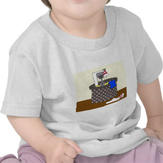 Cat in the Laundry (Meet the Mews) Tees