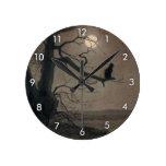 Catin theMoonlight, , Alexandre Steinlen Round Clock