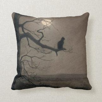 Catin theMoonlight, , Alexandre Steinlen Throw Pillow