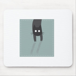 Cat in the pocket mouse pad